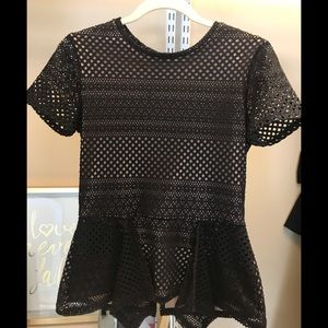 BCBC peplum top